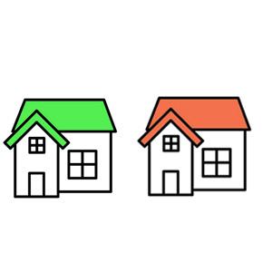 2世帯住宅 イラスト