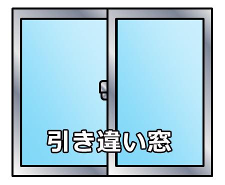 開閉センサーは引き違い窓にも対応してます。