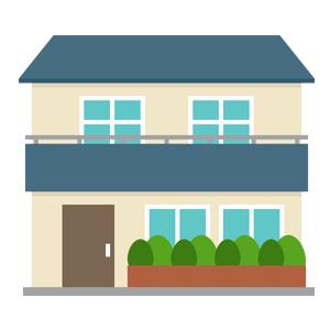 戸建て住宅 イラスト
